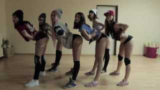 Will.i.Am feat. Miley Cyrus, Wiz Khalifa & French Montana_Feeling Myself (TWERK CHOREO)