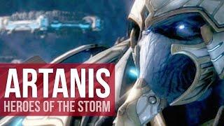 Heroes of the Storm: Artanis Bruiser Build - How-to Artanis! (Gameplay)