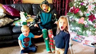 KID BREAKS BOTH LEGS BEFORE CHRISTMAS? DYCHES FAM