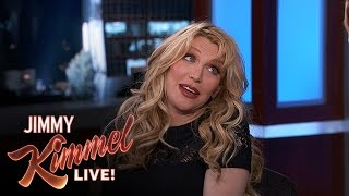 Courtney Love on Making Up with Dave Grohl