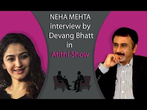 Best Gujarati Actress Neha Mehta   Tarak Mehta Fame   Interview by Devang Bhatt