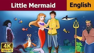 The Little Mermaid in English - Fairy Tales - Bedtime Stories - 4K UHD - English Fairy Tales