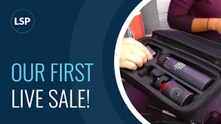 1st LIVE Sale starts NOW!!! Cameras, Mics and more!