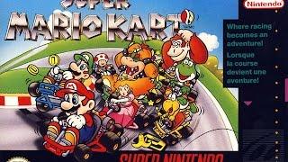 Super Mario Kart (Super Nintendo) - Mushroom Cup 50cc