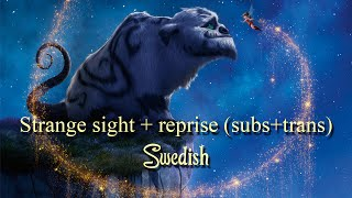 Strange sight + reprise - Swedish (Subs+trans)