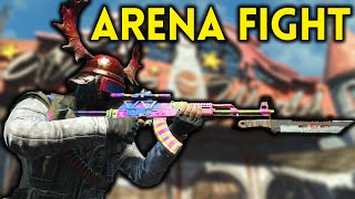 Fallout 4 Nuka World - Part 1 - ARENA FIGHT