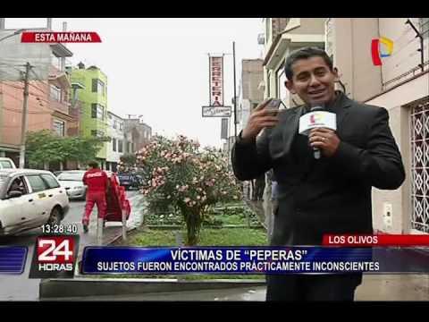Detienen a 'peperas' que doparon a policía y su amigo en Los Olivos 2 2
