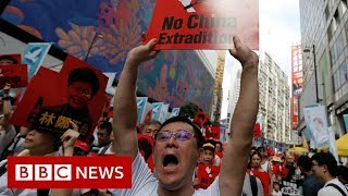 Hong Kong protests: Leader Carrie Lam defiant on extradition plan - BBC News