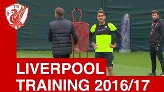 Liverpool FC Training - Season 2016/17