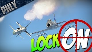 LOCK ON MISSILES - FOX 2 -Could It Work? (War Thunder Gameplay)