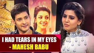 Samantha Interviews Mahesh Babu and Kajal Aggarwal on Brahmotsavam Movie - Gulte.com