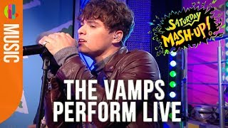 The Vamps 'Personal' | LIVE on Saturday Mash-Up!