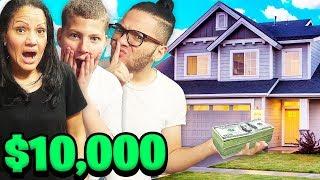 HIDDEN $10,000 TREASURE HUNT IN THE HOUSE!!! WINNER KEEPS THE MONEY - CHALLENGE!!   MindOfRez