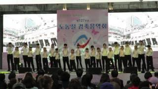 2017.04.29 팝콘하모니카연주단 - 아기코끼리 걸음마+??+소양강처녀 *부천 노동절 경축음악회*