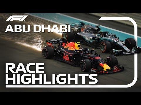 2018 Abu Dhabi Grand Prix Race Highlights