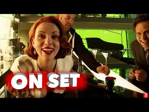 Avengers Age of Ultron All Bloopers and Outtakes Funny Edit Robert Downey Jr. Chris Evans