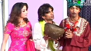Best of Sakhawat Naz and Nida Choudhary New Pakistani Stage Drama Full Comedy Funny Clip
