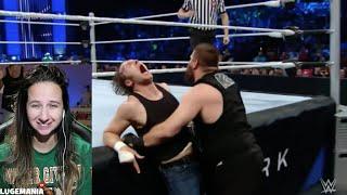 WWE Smackdown 3/3/16 Dean Ambrose vs KO