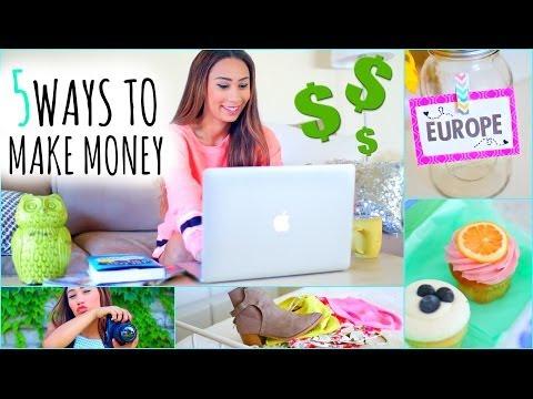 watch 5 Ways To Make Money This Summer! ☼ On The Internet