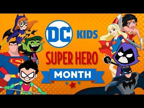 🔴 Watch Now Live: DC Super Hero Month | Super Fun Time! | DC Kids