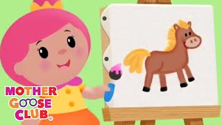 Animal Sound Songs | Simple Songs for Kids by Mother Goose Club | Animated Songs for Children