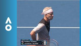 John McEnroe back to his old tricks | Australian Open 2018