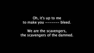 Lyrics | Scavengers Of The Damned | Aiden