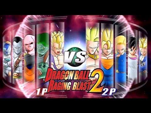 Dragon Ball Z Raging Blast 2 Random Characters 2 Live Commentary
