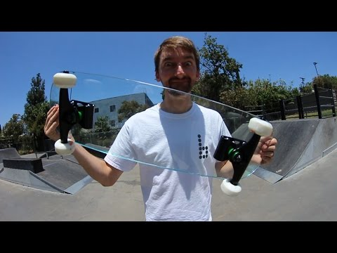 EXTREMELY DANGEROUS GLASS SKATEBOARD |  YOU MAKE IT WE SKATE IT EP 13 Mp3