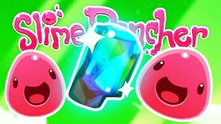 UNLOCKING the MASTER DRILL and Finding LEGENDARY Glass Shards! - Let's Play Slime Rancher Gameplay