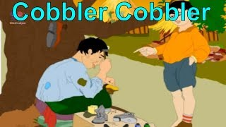 Cobbler Cobbler Mend My Shoe Nursery Rhyme For Children | Funny Cartoon Animated Rhymes For Kids