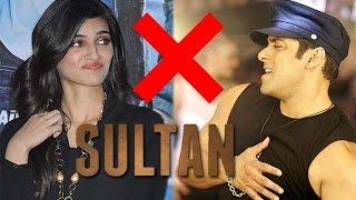 Kriti Sanon Refuse To Do Movie With Salman Khan