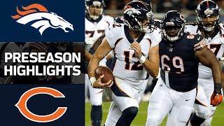 Broncos vs. Bears | NFL Preseason Week 1 Game Highlights