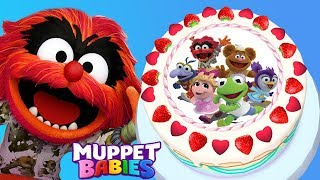 Fun Cake Cooking Games - Baby Cooks Disney Junior Muppet Babies Birthday Cake App For Kids