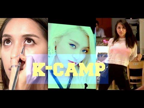 ME CONVIERTO EN UNA ESTRELLA DE KPOP Canto Baile Makeup KPOP CAMP
