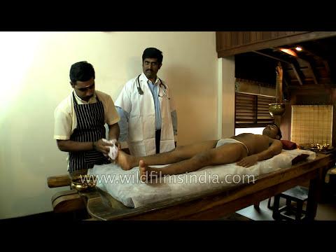 Kerala ayurvedic full-body massage