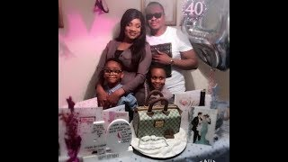 Yoruba Actress Opeyemi Aiyeola's 40th Birthday Party With Family & Friends