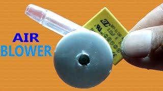 Make a Mini Air Blower