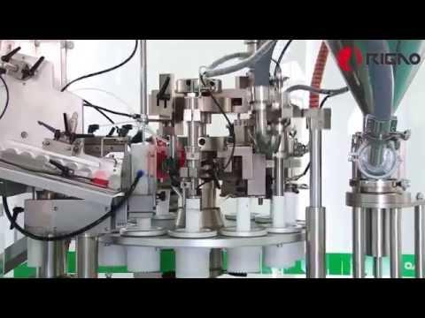 Tube Filling and Sealing Machine RGNF-80B