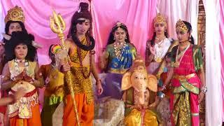 Ganesha patri puja- supporting green India || Flotilla Kids Special Drama || Harshini Media