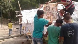 MAKING OF RAAVAN | HAPPY DUSSEHRA | ANAND GRAM SOCIETY PRESENTS | 2K16...
