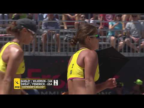 Xxx Mp4 2018 FIVB Huntington Beach Open BansleyWilkerson Vs FendrickSweat 3gp Sex
