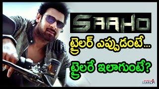 SAAHO Movie Trailer Release Date Updates   Prabhas   Shraddha Kapoor   Director Sujeeth   Telugu