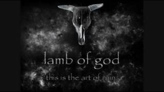 Lamb of God- Walk With me in Hell (with lyrics)