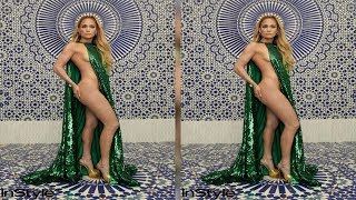 Jennifer Lopez Wows in Half-Naked InStyle Photo Shoot: