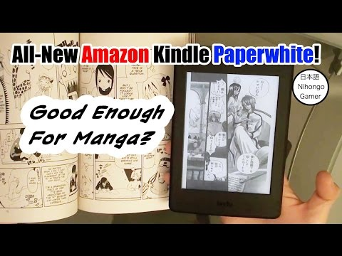 Is All-New Kindle Paperwhite Good Enough For Manga?
