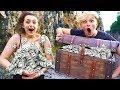 I Went Exploring & Found $100,000 in Abandoned Treasure Chest... (Treasure Hunt Challenge)