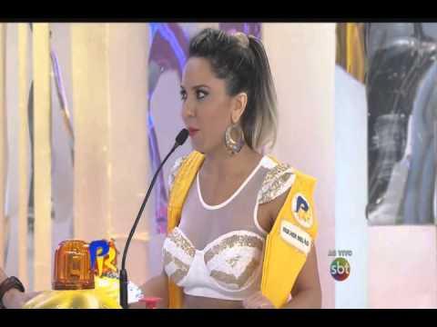Domingo Legal 8 2 15 Mulher Melão faz curso de Sedução com Vanessa de Oliveira