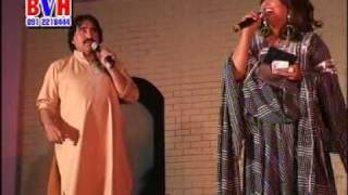 Ismaeel shahid and his Wife in Dubai Pashto Musical Show (Zama umar )