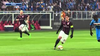 AC Milan Vs. Sampdoria   Europa League PES 2016 PS4 [HD]